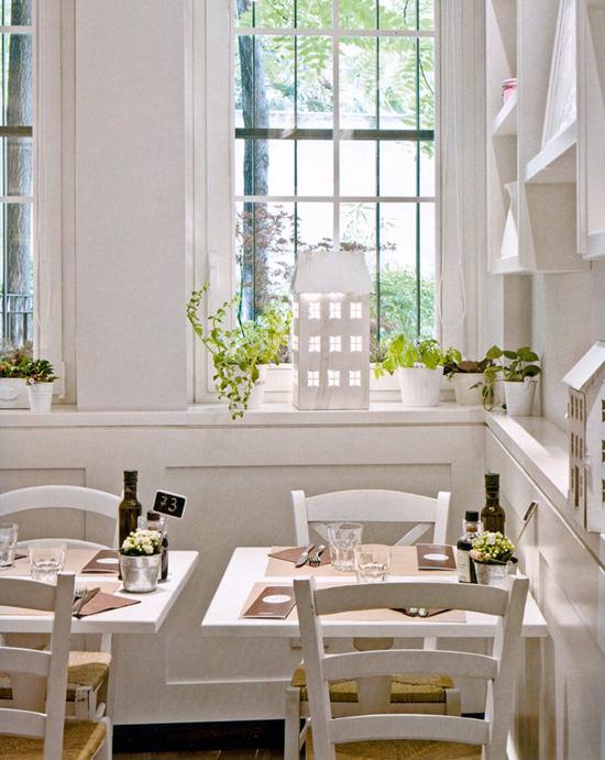 Eat taste and review bianco latte a pranzo tra il buono for Arredamento provenzale milano