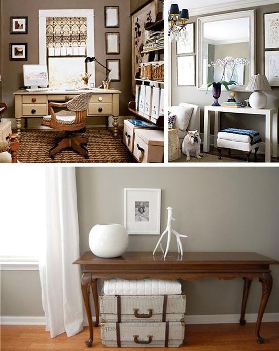 Cambio casa// Scegliere la tinta per la zona living: dal taupe al ...