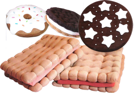 Cuscini A Forma Di Biscotto Dove Comprarli.Cuscini Biscotto