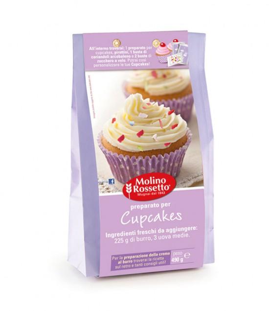 preparato cupcakes