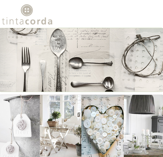 Lo shop TintaCorda e i suoi complementi d'arredo deliziosamente shabby chic  Life and The City