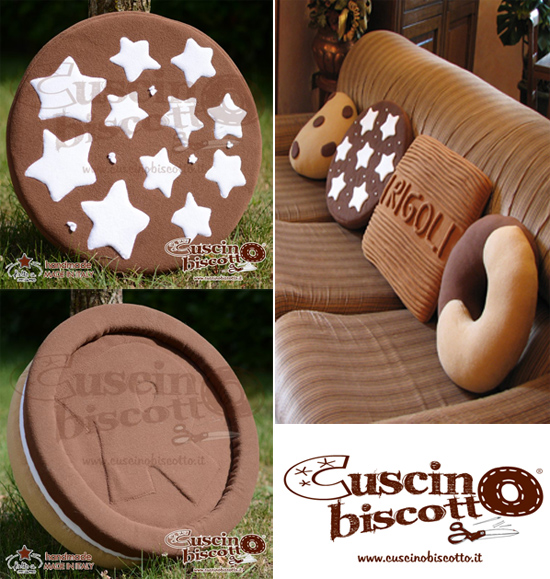 Cuscini A Biscotto.Cuscino Biscotto I Cuscini Golosi Handmade Ecco Dove Acquistarli