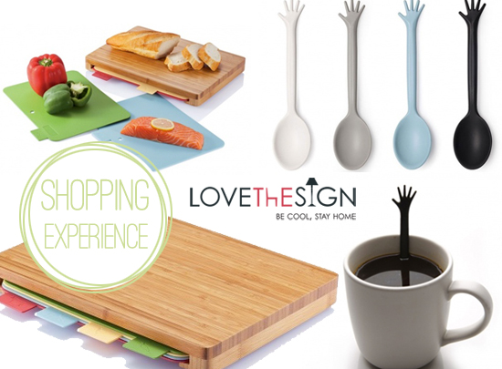 Lovethesign un e commerce per gli appassionati di home for Oggetti design per casa