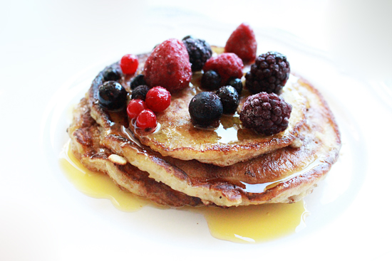colazione_pancake_senza_burro_con_yogurt_soia