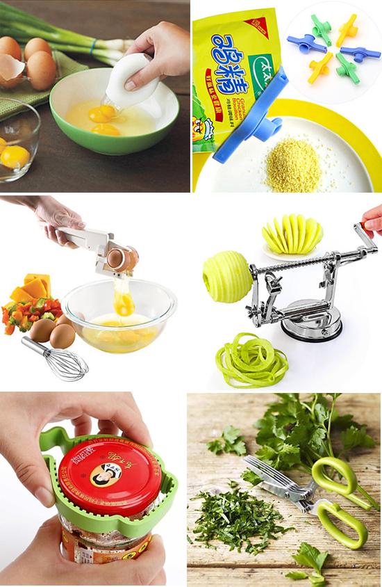 Utensili e gadget in cucina quando il superfluo diventa - Elenco utensili cucina ...