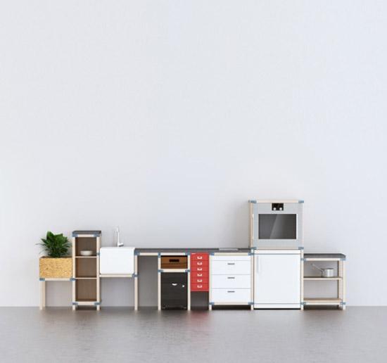 Ikeatemporary e la cucina del futuro modulare for Cucine modulari