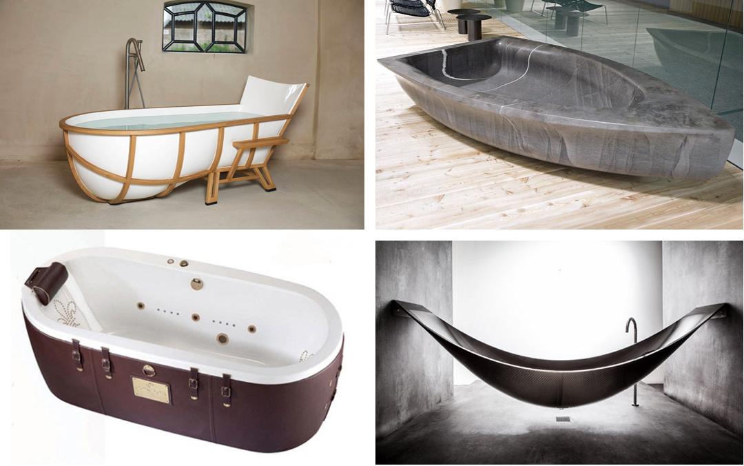 Le vasche da bagno più desiderate del mondo tra stile design e