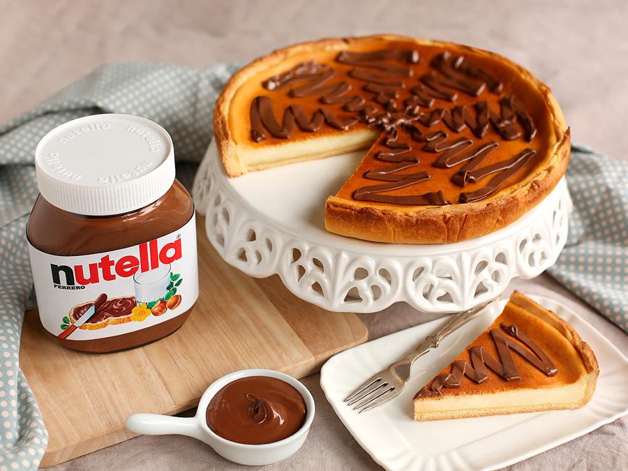 Ingrediente Nutella – Cheesecake alla Nutella