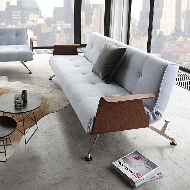 Funzionalità e stile: il bello dei divani letto in stile ...