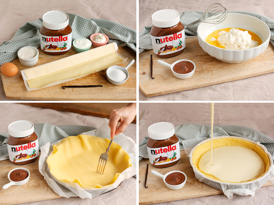 Nutella Ingredienti – Cheesecake con Nutella