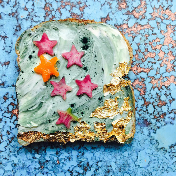 mermaid toast 1