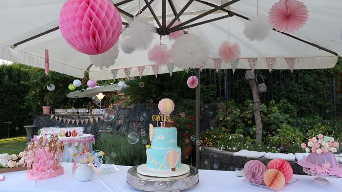 Il Primo Compleanno Di Flavia La Sua Festa Tra Pompom
