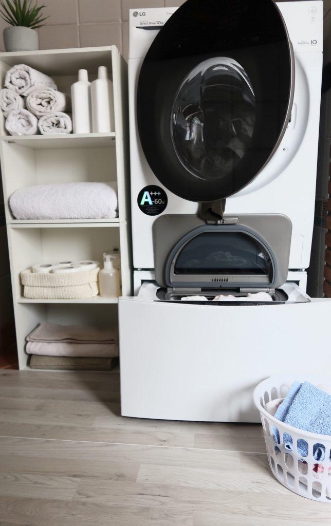 Lg twinwash la lavatrice col doppio cestello che ti for Lavatrice doppio cestello
